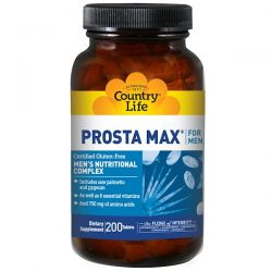 Country Life, Prosta Max for Men, 200 Tablets