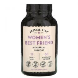Crystal Star, Women's Best Friend, 60 Vegetarian Capsules