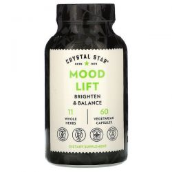 Crystal Star, Mood Lift, 60 Vegetarian Capsules