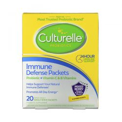 Culturelle, Probiotics, Immune Defense Packets, Mixed Berry Flavor, 20 Once Daily Single Serve Packets Zdrowie i Uroda