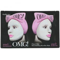 Double Dare, Detox Bubbling Mask, 2 in 1 Kit