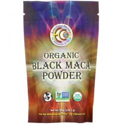 Earth Circle Organics, Organic Black Maca Powder, 8 oz (226.7 g) Pozostałe