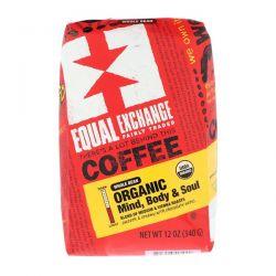 Equal Exchange, Organic, Coffee, Mind Body & Soul, Whole Bean, 12 oz (340 g) Pozostałe