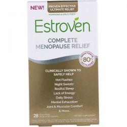 Estroven, Complete Menopause Relief, 28 Vegetarian Caplets Pozostałe