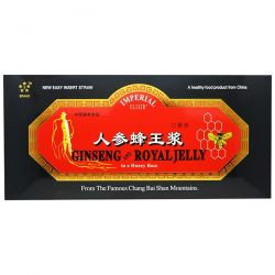 Imperial Elixir, Ginseng & Royal Jelly, 30 Bottles, 0.34 fl oz (10 ml) Each Pozostałe