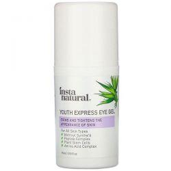 InstaNatural, Youth Restoring, Youth Express Eye Gel, 0.5 fl oz (15 ml) Pozostałe