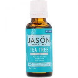 Jason Natural, Skin Oil, Tea Tree, 1 fl oz (30 ml) Pozostałe