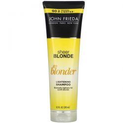 John Frieda, Sheer Blonde, Go Blonder, Lightening Shampoo, 8.3 fl oz (245 ml) Zagraniczne