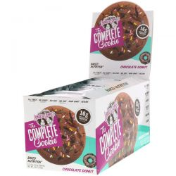 Lenny & Larry's, The COMPLETE Cookie, Chocolate Donut, 12 Cookies, 4 oz (113 g) Each Zagraniczne