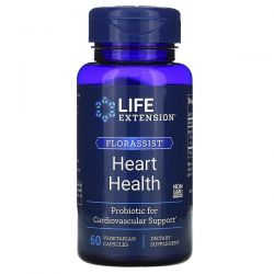 Life Extension, FLORASSIST Heart Health, 60 Vegetarian Capsules Zagraniczne