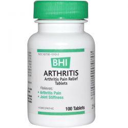 MediNatura, BHI, Arthritis, 100 Tablets Pozostałe