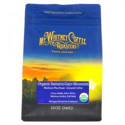 Mt. Whitney Coffee Roasters, Organic Sumatra Gayo Mountain, Medium Plus Roast, Ground Coffee, 12 oz (340 g) Zagraniczne
