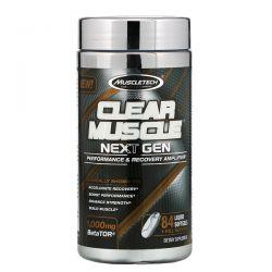 Muscletech, Clear Muscle Next Gen, Performance & Recovery Amplifier, 1000 mg , 84 Liquid Softgels Pozostałe