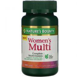 Nature's Bounty, Women's Multi, Complete Multivitamin, 100 Tablets Pozostałe