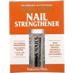 Nature's Plus, Ultra Nails, Nail Strengthener, 1/4 fl oz (7.4 ml) Pozostałe