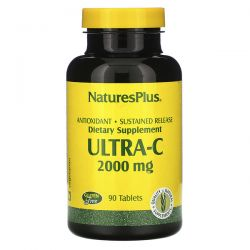 Nature's Plus, Ultra-C, 2,000 mg, 90 Tablets Pozostałe