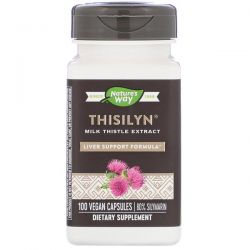 Nature's Way, Thisilyn, Liver Support Formula, 100 Vegan Capsules Zagraniczne