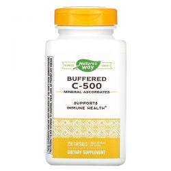 Nature's Way, Buffered C-500, 500 mg, 250 Capsules Pozostałe