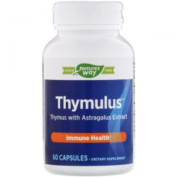 Nature's Way, Thymulus, Immune Health, 60 Capsules Pozostałe