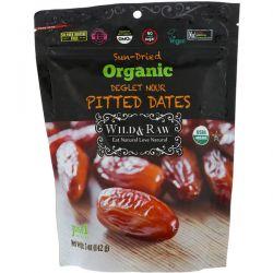 Nature's Wild Organic, Wild & Raw, Sun-Dried, Organic Deglet Noor Pitted Dates, 5 oz (142 g)