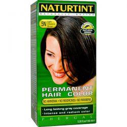 Naturtint, Permanent Hair Color, 5N Light Chestnut Brown, 5.28 fl oz (150 ml) Pozostałe