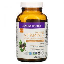 New Chapter, Fermented Vitamin C, 250 mg, 60 Vegan Tablets Pozostałe
