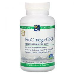 Nordic Naturals, ProOmega CoQ10, 1,000 mg, 120 Soft Gels Pozostałe