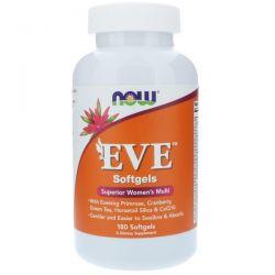Now Foods, EVE Superior Women's Multi, 180 Softgels Zagraniczne