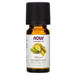 Now Foods, Essential Oils, 100% Pure Cardamom, 1/3 fl oz (10 ml) Pozostałe