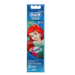 Oral-B, Kids, Disney Princess, Replacement Brush Heads, Extra Soft, 3+ Years, 2 Brush Heads