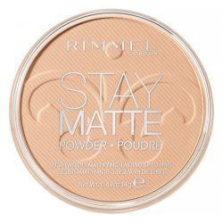 Rimmel London, Stay Matte Pressed Powder, Lightweight Mattifying, 004 Sandstorm, 0.49 oz (14 g)