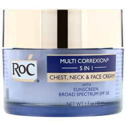 RoC, Multi Correxion 5 in 1, Chest, Neck & Face Cream, 1.7 oz (48 g) Pozostałe