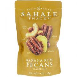Sahale Snacks, Glazed Mix, Banana Rum Pecans, 4 oz (113 g) Pozostałe