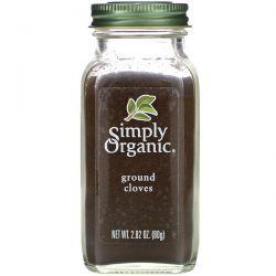 Simply Organic, Ground Cloves, 2.82 oz (80 g)