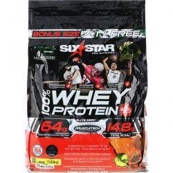 Six Star, Elite Series, 100% Whey Protein Plus, Triple Chocolate, 8 lbs (3.63 kg) Pozostałe