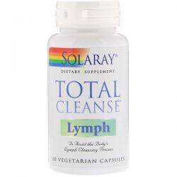 Solaray, Total Cleanse Lymph, 60 Vegetarian Capsules Pozostałe