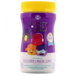Solgar, U-Cubes, Children's Multi-Vitamin & Mineral Gummies, 60 Gummies Pozostałe