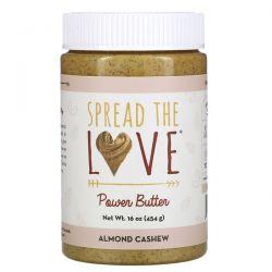 Spread The Love, Power Butter, Almond Cashew, 16 oz ( 454 g) Pozostałe