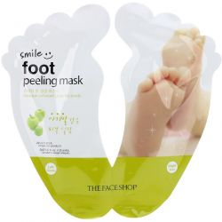 The Face Shop, Smile Foot Peeling Mask, 1 Pair, 0.67 fl oz (20 ml) Each Pozostałe
