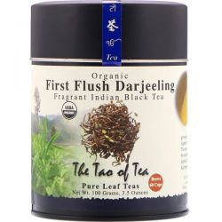 The Tao of Tea, Organic Fragrant Indian Black Tea, First Flush Darjeeling, 3.5 oz (100 g) Pozostałe