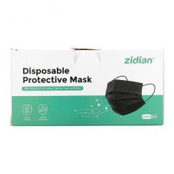 Zidian, Disposable Protective Mask, 50 Pack Zdrowie i Uroda