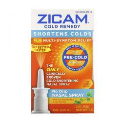 Zicam, Cold Remedy, No Drip Nasal Spray, 0.50 fl oz (15 ml) Zdrowie i Uroda