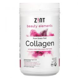 Zint, Pure Grass-Fed Collagen, Hydrolyzed Collagen Peptides, 2 lbs  (907 g) Zdrowie i Uroda