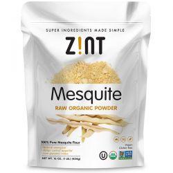 Zint, Mesquite Raw Organic Powder, 16 oz (454 g) Zdrowie i Uroda