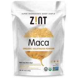 Zint, Maca, Organic Gelatinized Powder, 8 oz (227 g) Zdrowie i Uroda