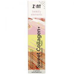 Zint, Sweet Collagen, Strawberry, Pineapple, Peach, 3 Individual Packets, 5 g Each Zdrowie i Uroda
