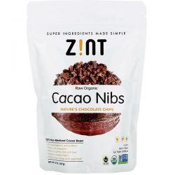 Zint, Raw Organic Cacao Nibs, 8 oz (227 g) Zdrowie i Uroda