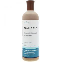 Zion Health, Adama, Ancient Minerals Shampoo, White Coconut, 16 fl oz (473 ml) Zdrowie i Uroda