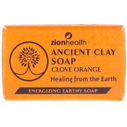 Zion Health, Ancient Clay Soap, Clove Orange, 6 oz (170 g) Pozostałe