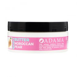 Zion Health, Adama, Body Butter with Argan Oil, Moroccan Pear, 4 oz (118 g) Zdrowie i Uroda